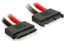 Kabel SATA Micro prodlužka 30 cm 7+7+2 pin