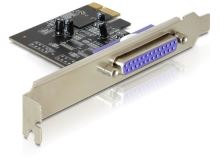 Delock Adaptér PCI Express x1 1x paralelní port + low profile