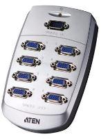 ATEN VS-88 8-portový VGA rozbočovač 200 MHz