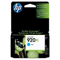 HP CD972AE Ink Cart No.920XL pro OJ Pro 6500, 6ml, Cyan CD972AE#BGY