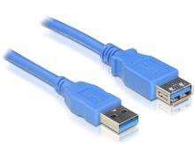 Delock USB 3.0 kabel prodlužující A/A samec/samice délka 1m, 82538