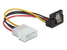 Power Adapter Molex na 1x SATA 15-pin kolmý dolů, kovová západka