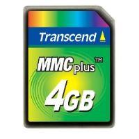 Transcend 4GB High Speed MMC  multimedia memory card