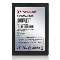 TRANSCEND 120GB SSD disk 2.5'' SATA (MLC), DRAM, TS120GSSD25D-M