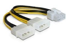 Power Adapter pro PCI Express karty z 2x 5,25