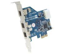 IOI FWB-PCIE1X21A PCI Express x1 FW-B 3Port external