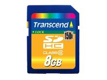 Transcend 8GB SDHC (Class 4)  paměťová karta