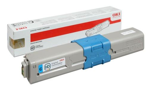 OKI Cyan toner do C510/511/530/531/MC561/562 (5 000 stránek)