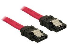 Kabel HDD SATA 70 cm přímý, červený