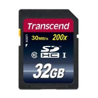 Transcend 32GB SDHC (Class 10) UHS-I 200x (Premium) paměťová karta TS32GSDHC10