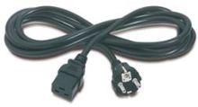 PremiumCord napájecí kabel IEC 320 C19 na CEE7, délka 2,7m, kpspa