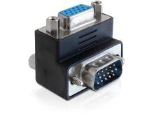 Delock Adapter VGA samec / samice 270° pravoúhlý