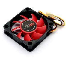 AIREN FAN RedWings60H (60x60x15mm, 17,5dBA) 3pin 12V