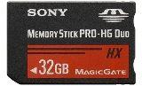 Sony MSHX32B Memory Stick PRO-HX Duo 32 GB,  50MB/s (240Mbps)* Read/Write