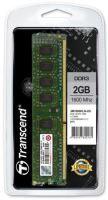 Transcend paměť 2GB DDR3-1600 U-DIMM (JetRam) 1Rx8 CL11, JM1600KLN-2G