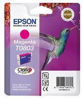 EPSON cartridge T0803 magenta (kolibřík), C13T08034011