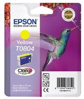 EPSON cartridge T0804 yellow (kolibřík), C13T08044011