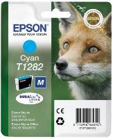 EPSON cartridge T1282 cyan (liška) C13T12824012