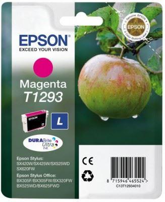 EPSON cartridge T1293 magenta (jablko), C13T12934011