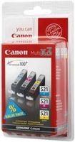 Canon cartridge CLI-521 C/M/Y MultiPack (CLI521CMY), 2934B010
