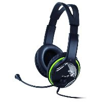 Genius headset - HS-400A, 113 dB, 40 mm reproduktory pro hluboké basy 31710169100