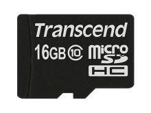 Transcend 16GB microSDHC (Class 10) paměťová karta (bez adaptéru) TS16GUSDC10