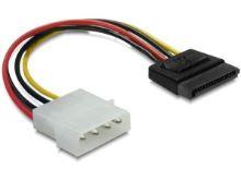 Power Adapter Molex na 1x SATA 15-pin přímý,12cm