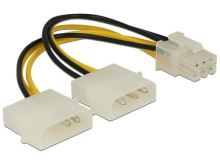 Delock napájecí kabel pro PCI Express Card 15cm 82315
