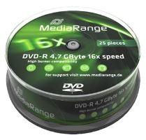 MEDIARANGE DVD-R 4,7GB 16x spindl 10ks MR452