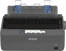 EPSON jehličková  LQ-350 - A4/24pins/300zn/1+3 kopii/USB/LPT/COM, C11CC25001