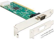 Delock PCI Card > 1 x Serial RS-232 High Speed 921K s podporou napájení+low profile