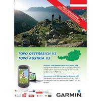 Garmin mapa Rakouska - TOPO Rakousko v3, DVD + microSD/SD
