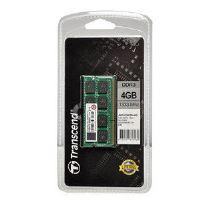 Transcend paměť 4GB DDR3 SO-DIMM 1333Mhz CL9, JM1333KSN-4G