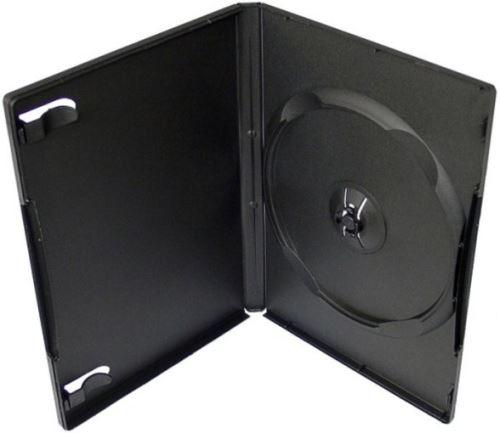 NN box:1 DVD 14mm černý - kvalita pro RUČNÍ balení, 27081