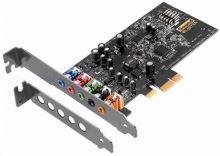 Creative Sound Blaster AUDIGY FX, zvuková karta 5.1, 24bit, SBX pro studio, PCIe, 70SB157000000