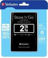 "VERBATIM Store´n´ Go 2,5"" 2TB USB 3.0 černý 53177"