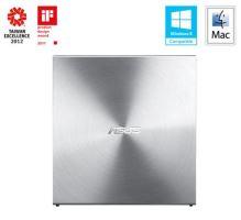 ASUS SDRW-08U5S-U SILVER externí slim + soft, 90DD0112-M20000