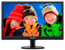 "Philips LCD 203V5LSB26 19,5""/1600x900/5ms/10mil:1/VGA/LED 203V5LSB26/10"