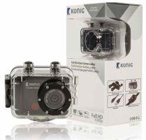 König CSAC300 - outdoorová Full HD kamera, microSDHC, WiFi, DO, vodotěsnost 30m