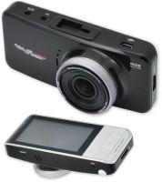 "CEL-TEC E08s GPS - palubní kamera do auta 1080p, microSD/SDHC, WDR, 2.7"" LCD, černá, 1512-003"