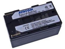 Náhradní baterie AVACOM Canon BP-924/927/930 Li-Ion 7.2V 4600mAh 33.1Wh, VICA-927-082