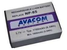 Náhradní baterie AVACOM Fujifilm NP-85 Li-Ion 3.7V 1700mAh 6.3Wh, DIFU-NP85-365