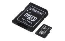 KINGSTON 8GB microSDHC UHS-I Class 10 Industrial Temp Card + SD Adapter, SDCIT/8GB