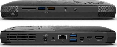 INTEL NUC Skull Canyon/Kit NUC6i7KYK/i7-6770HQ/DDR4-2133/USB3.0/HDMI/mDP/Thunder/Intel Iri