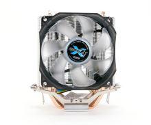 Zalman chladič CPU CNPS7X LED PLUS, univ. socket, 92mm blue led PWM fan