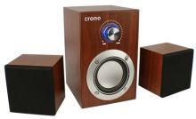 Crono CS-2106H - reproduktory 2.1, 10 W, hnědá, CS-2106H