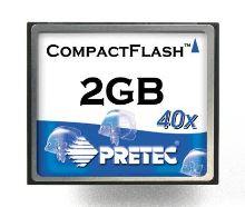 Pretec 2 GB Compact Flash (40x)