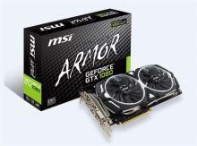 MSI GTX 1080 ARMOR 8G OC, 8GB GDDR5X, 256bit, DVI-D, HDMI, 3xDP