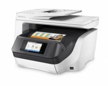 HP All-in-One Officejet Pro 8730 (A4/ 24/20 ppm, USB 2.0/ Duplex/ Ethernet/ Wi-Fi/ Print/ Scan/ Copy/ Fax/DADF) D9L20A