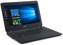 "Acer TravelMate B117-M-C4GF Celeron N3160/4GB+N/500GB+N/A/HD Graphics/11.6"" HD matný/BT/W10 Home/Black, NX.VCGEC.004"